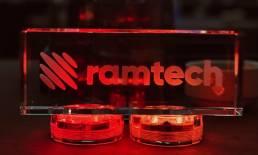 Ramtech - Glass Logo
