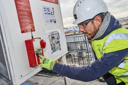 WES3 - Fire Alarm System at Manchester Airport